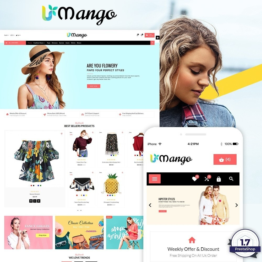 theme - Moda & Calzature - Mango – Fashion and Stylish Mega Shop - 1