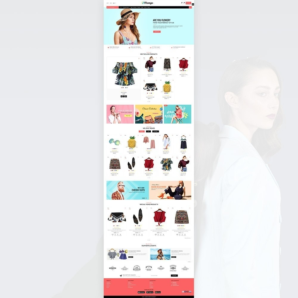 theme - Moda & Calzature - Mango – Fashion and Stylish Mega Shop - 2