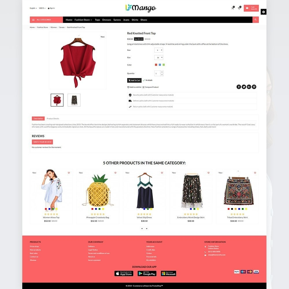 theme - Moda & Calzature - Mango – Fashion and Stylish Mega Shop - 3