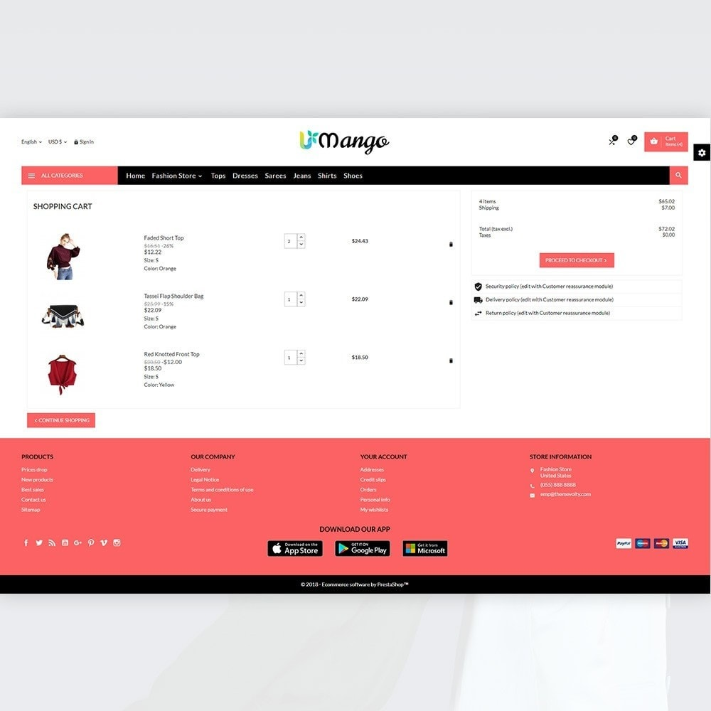theme - Moda & Calzature - Mango – Fashion and Stylish Mega Shop - 4