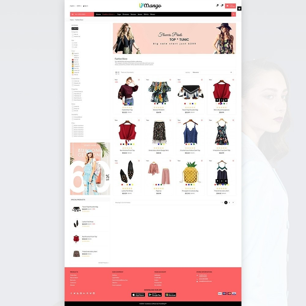 theme - Moda & Calzature - Mango – Fashion and Stylish Mega Shop - 7