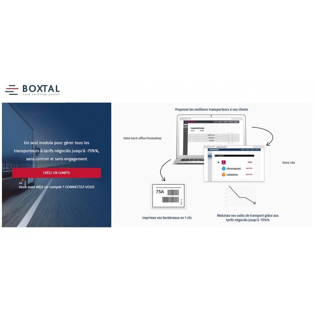 module - Transporteurs - Expéditions Boxtal - relais, domicile, express - 1