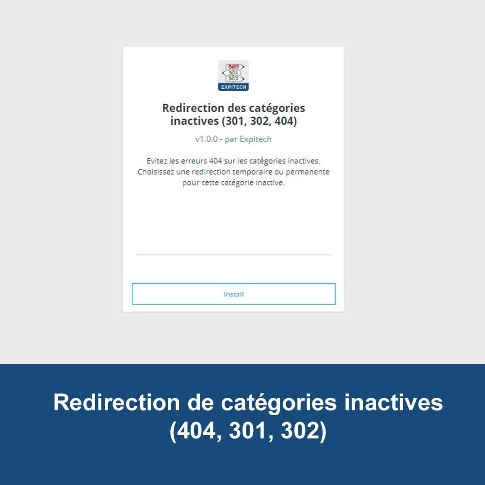 module - SEO (référencement naturel) - Redirection de catégories désactivées (SEO) - 3