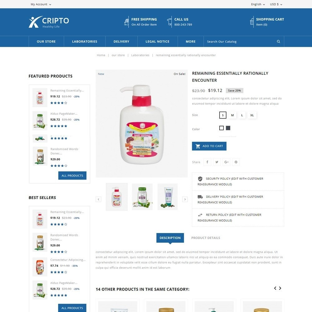 theme - Health & Beauty - Cripto - The Medical Store - 5