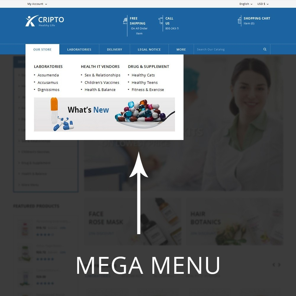 theme - Health & Beauty - Cripto - The Medical Store - 8