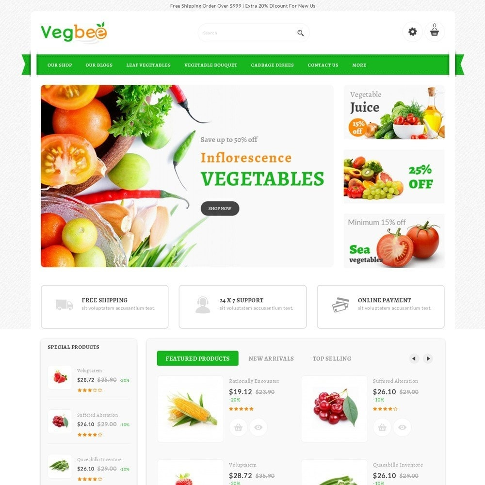 theme - Lebensmittel & Restaurants - Vegbee - The Grocery Store - 2