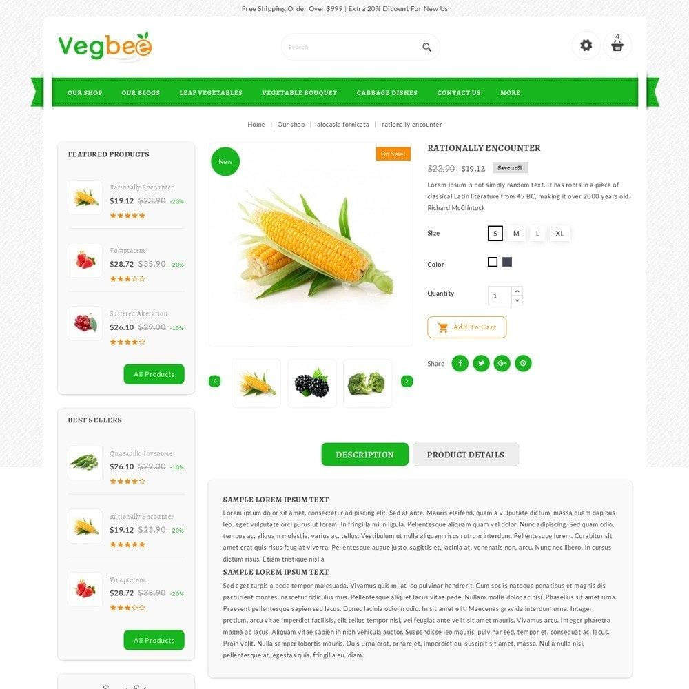 theme - Lebensmittel & Restaurants - Vegbee - The Grocery Store - 6
