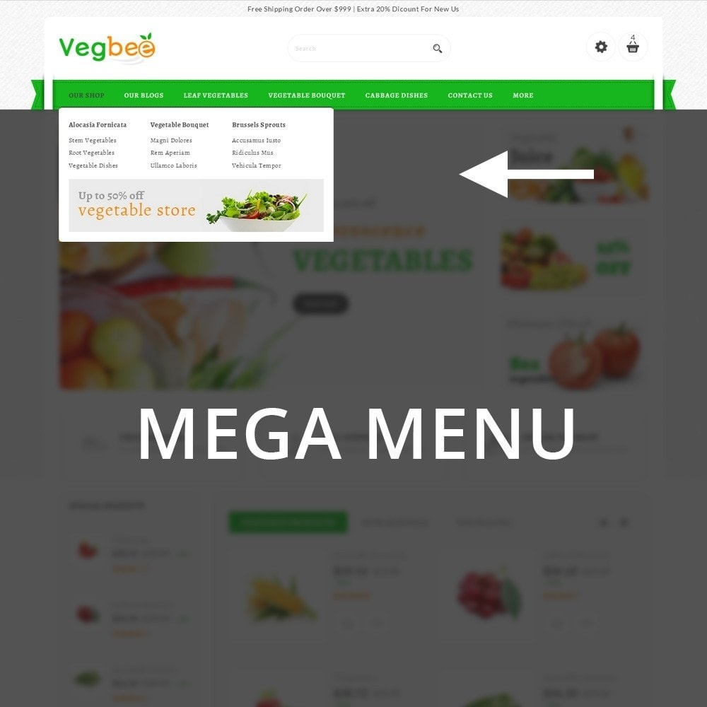 theme - Lebensmittel & Restaurants - Vegbee - The Grocery Store - 10