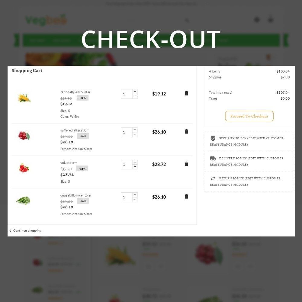 theme - Lebensmittel & Restaurants - Vegbee - The Grocery Store - 11