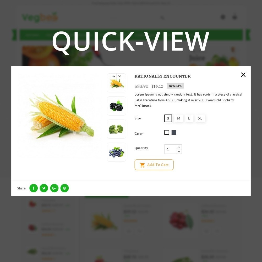 theme - Lebensmittel & Restaurants - Vegbee - The Grocery Store - 12