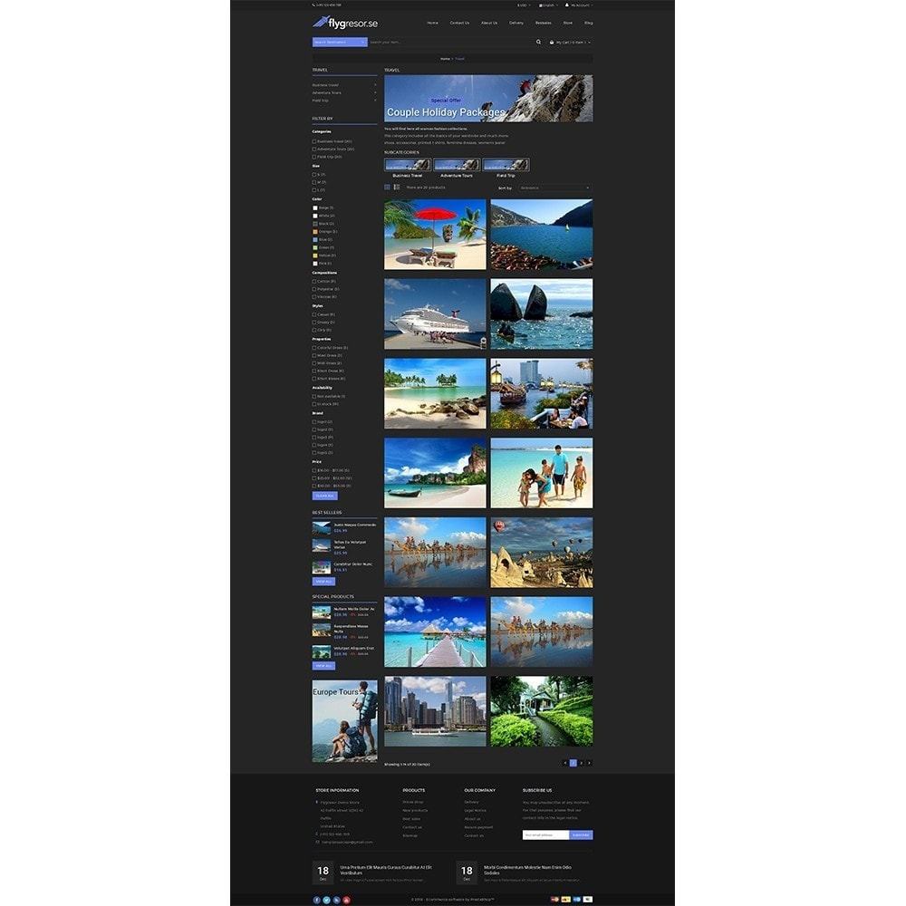 theme - Sport, Aktivitäten & Reise - Flygresor.se Travel Store - 3