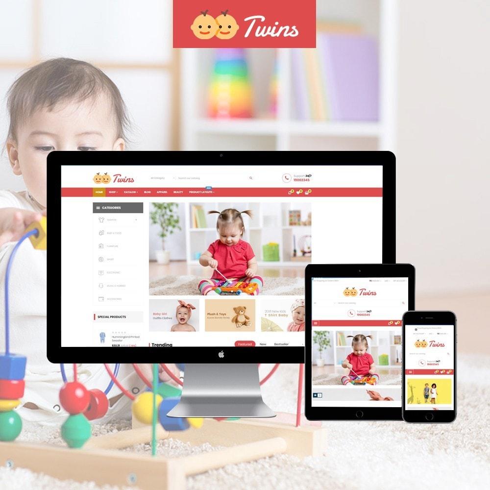 theme - Zabawki & Artykuły dziecięce - Leo Twins - 1