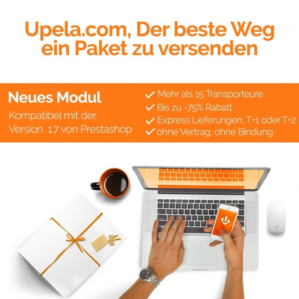 module - Versanddienstleister - Upela-Paketversand zum besten Preis - 1
