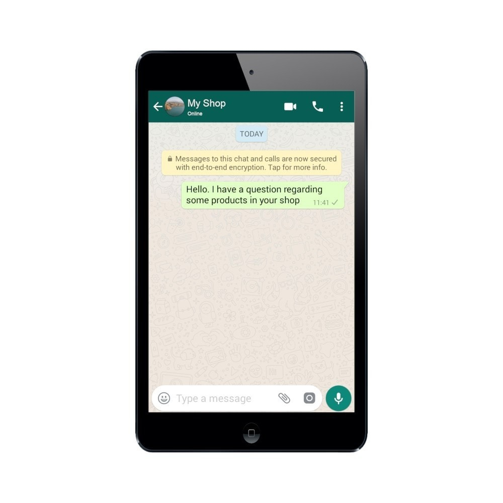 module - Support & Online Chat - WhatsApp Click to Chat - 3