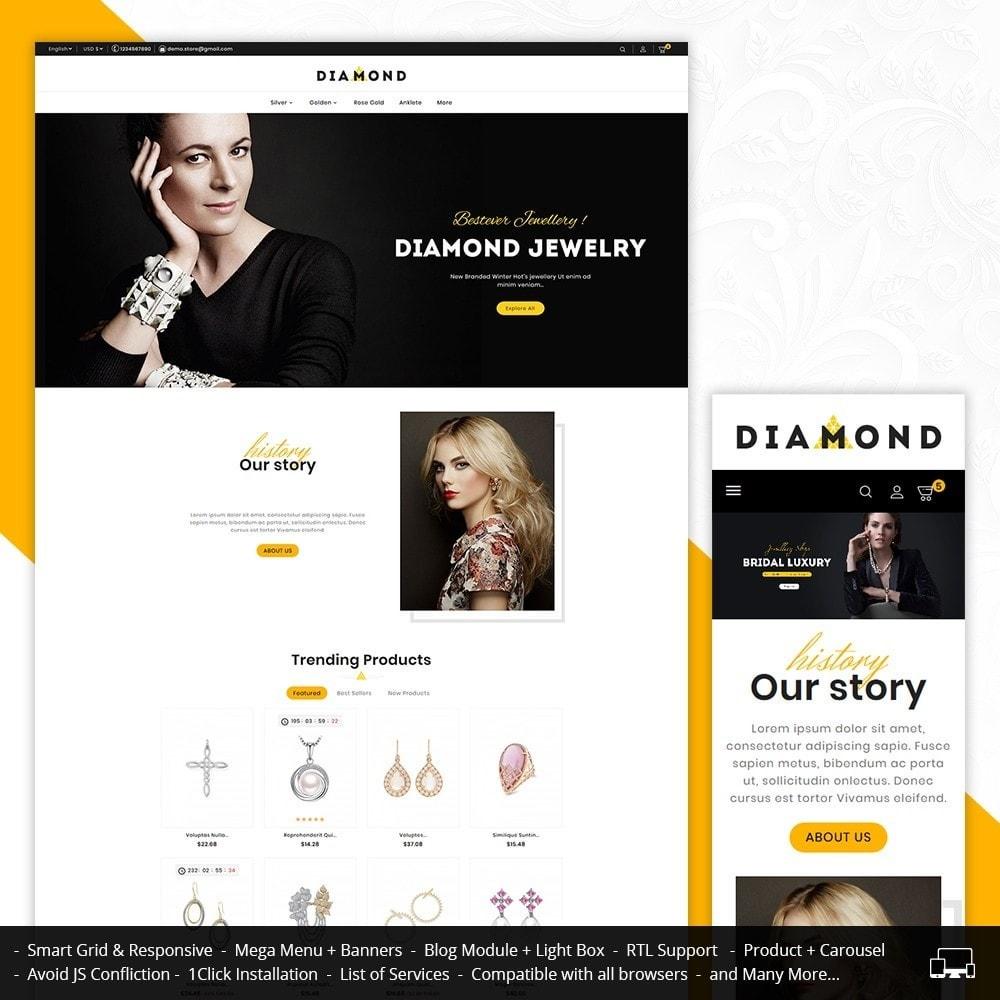 theme - Bellezza & Gioielli - Diamond Jewelry - 1