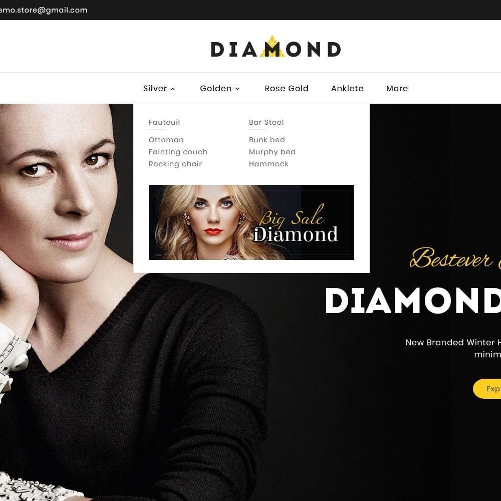 theme - Joalheria & Acessórios - Diamond Jewelry - 9