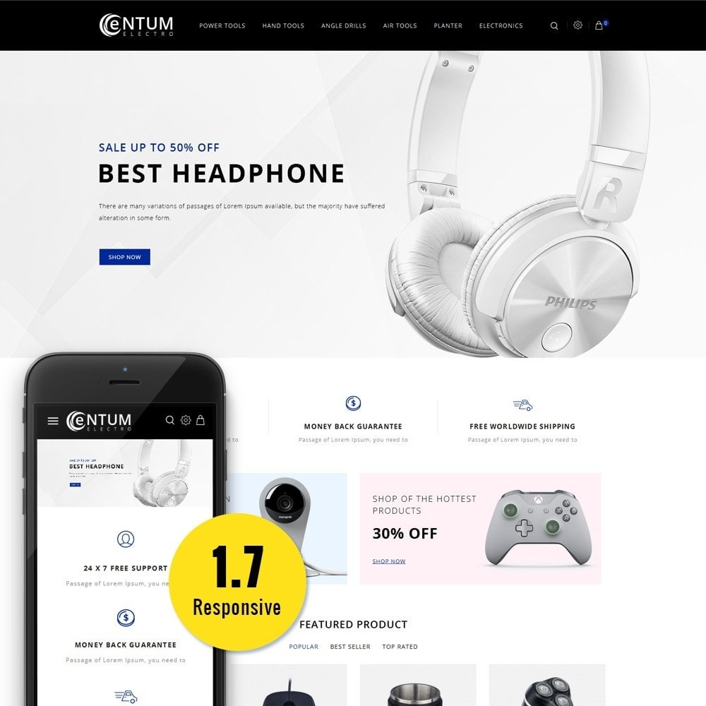 theme - Elektronik & High Tech - Entum Electro Store - 1