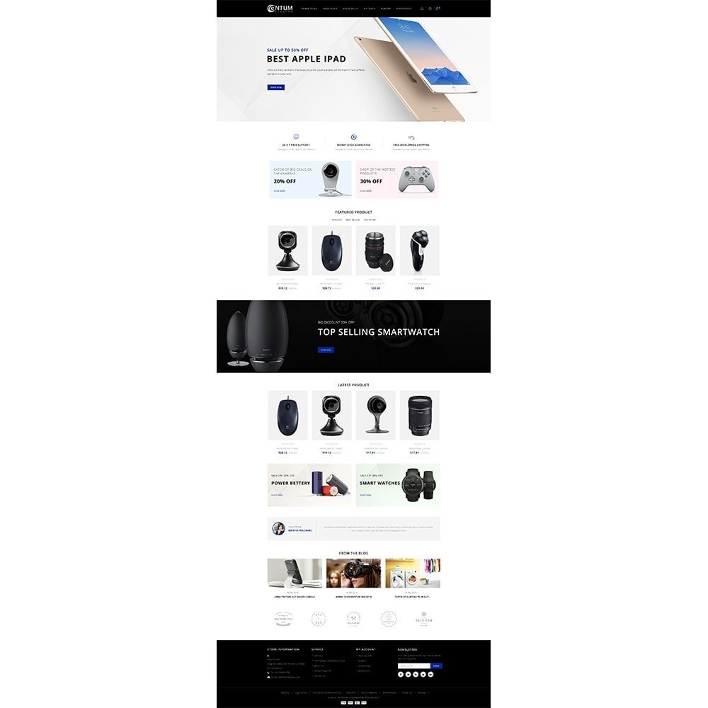 theme - Elektronica & High Tech - Entum Electro Store - 2