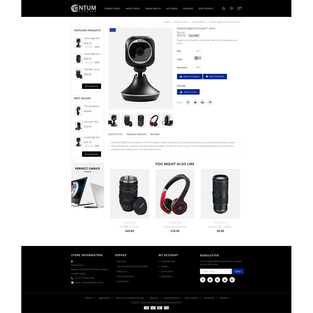 theme - Elektronik & High Tech - Entum Electro Store - 5
