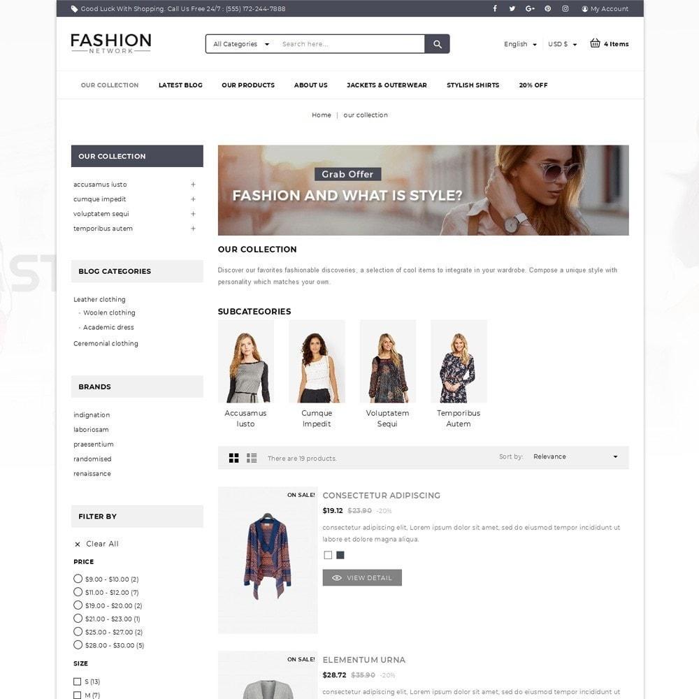theme - Moda & Calzature - Fashion Network - The Fashion Shop - 4