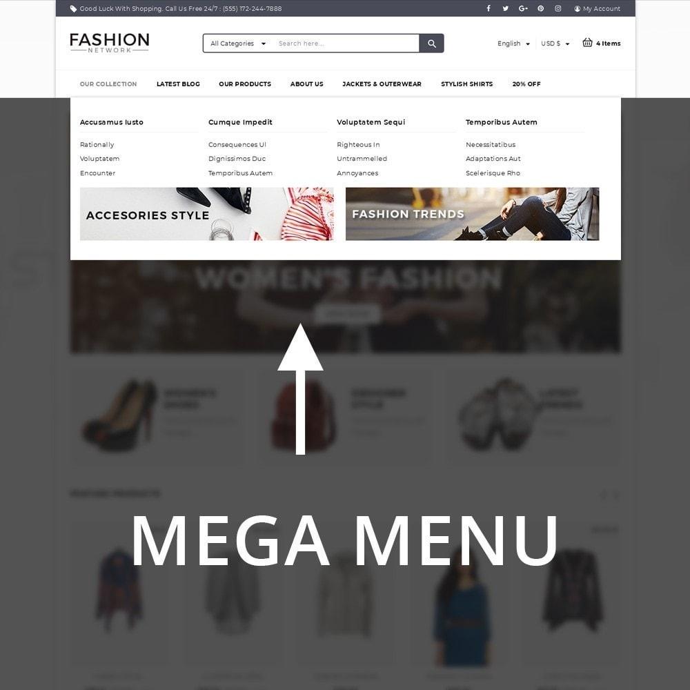 theme - Moda & Calzature - Fashion Network - The Fashion Shop - 8