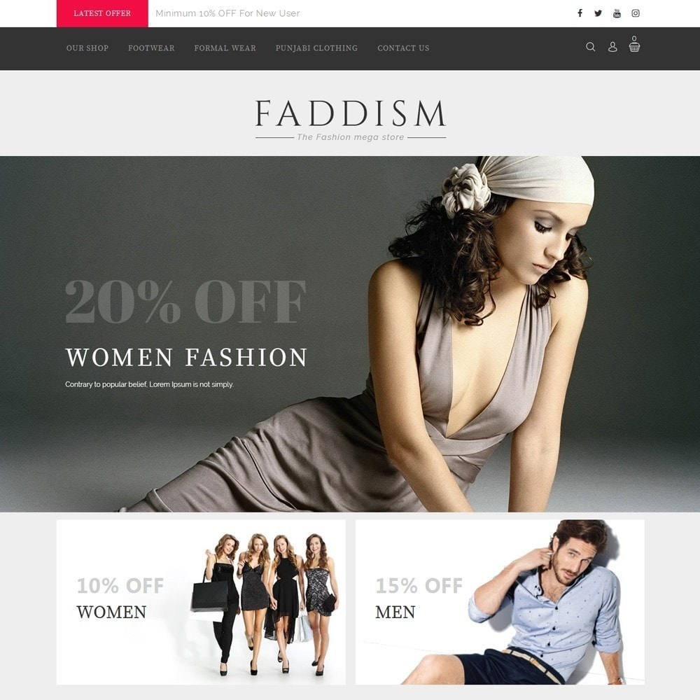 theme - Mode & Schoenen - Fadddism - The Fashion Store - 2