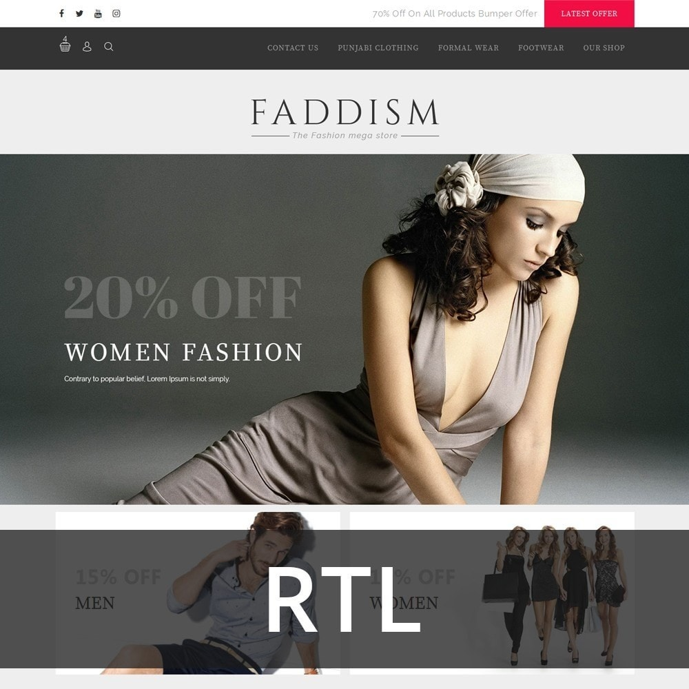 theme - Mode & Schoenen - Fadddism - The Fashion Store - 3