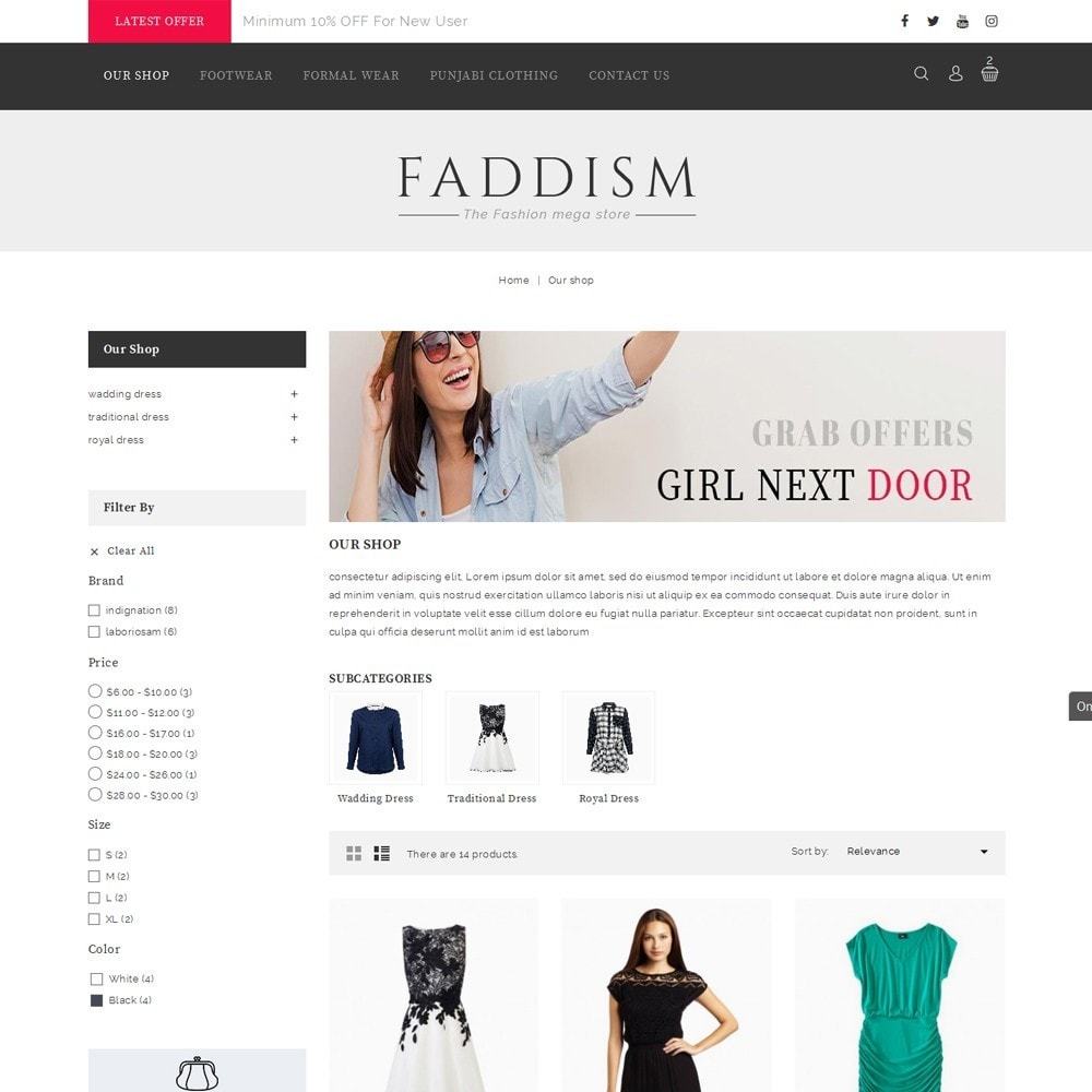 theme - Mode & Schoenen - Fadddism - The Fashion Store - 4