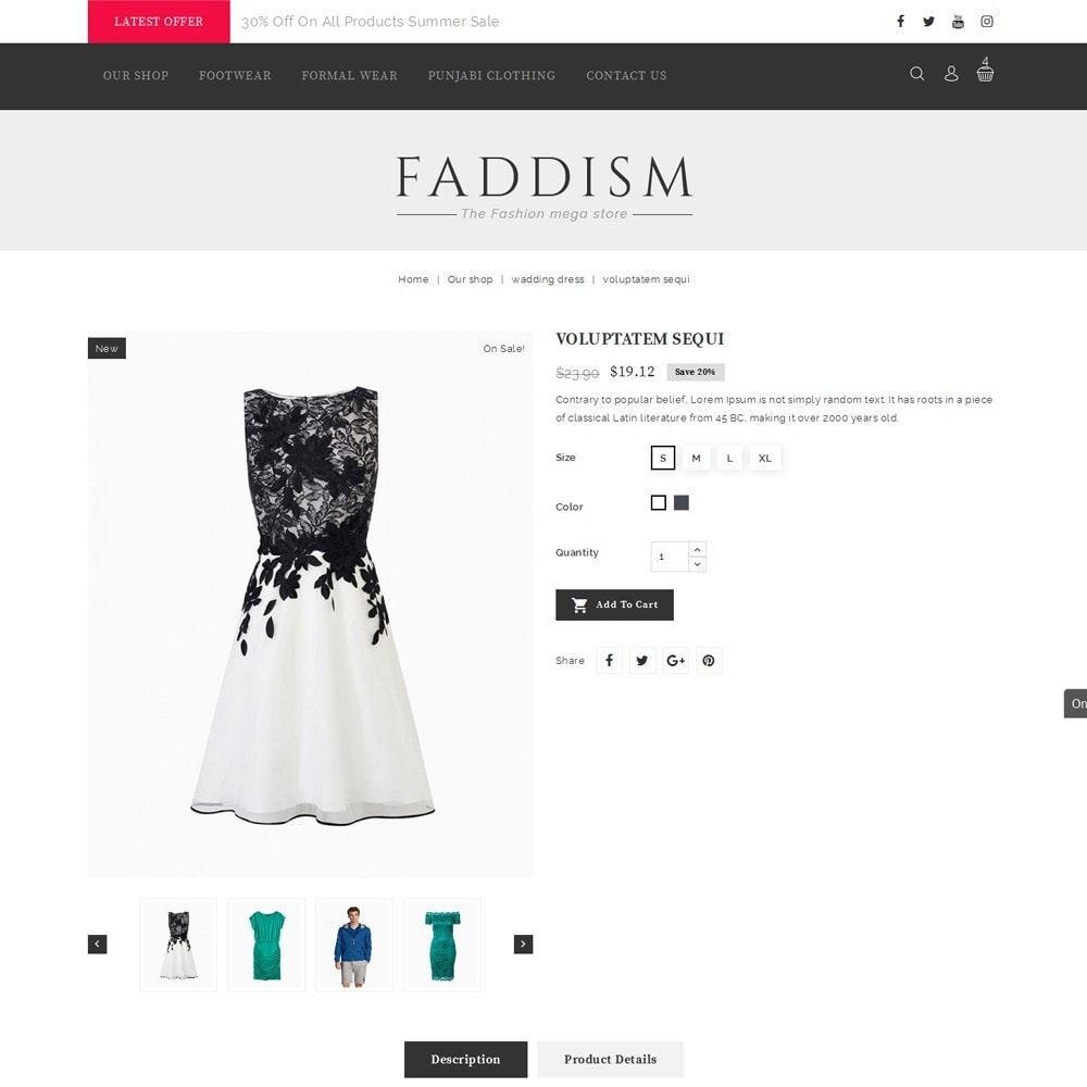 theme - Mode & Schoenen - Fadddism - The Fashion Store - 5