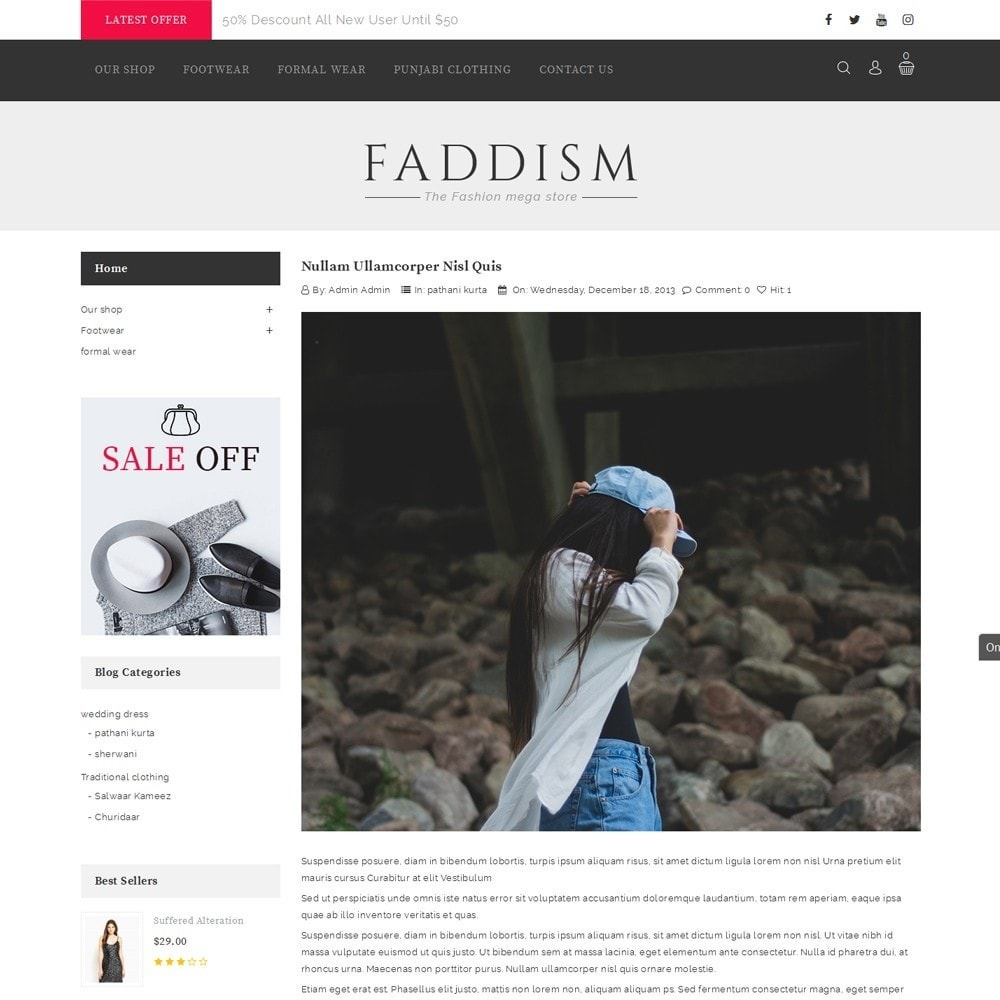theme - Mode & Schoenen - Fadddism - The Fashion Store - 6