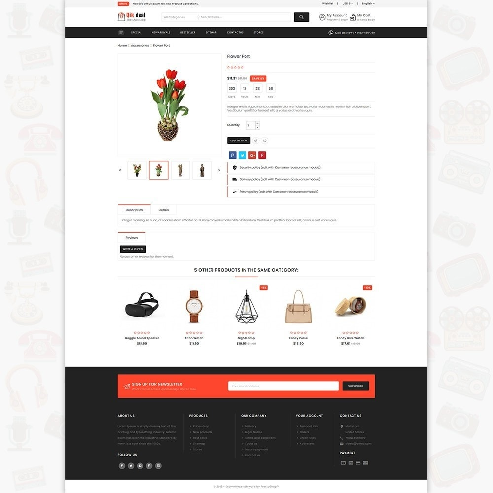 theme - Elettronica & High Tech - Qik deal - The Mega Ecommerce Store - 5