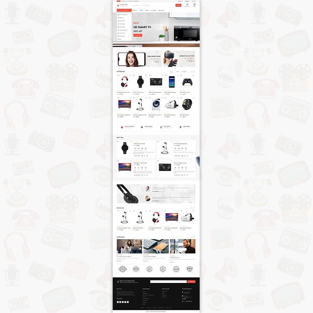 theme - Электроника и компьютеры - Media Stack - The Electronics Shop - 2