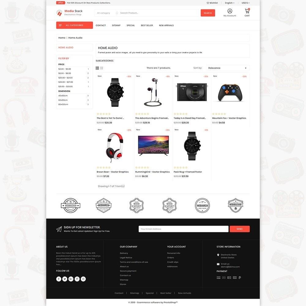 theme - Elektronica & High Tech - Media Stack - The Electronics Shop - 3