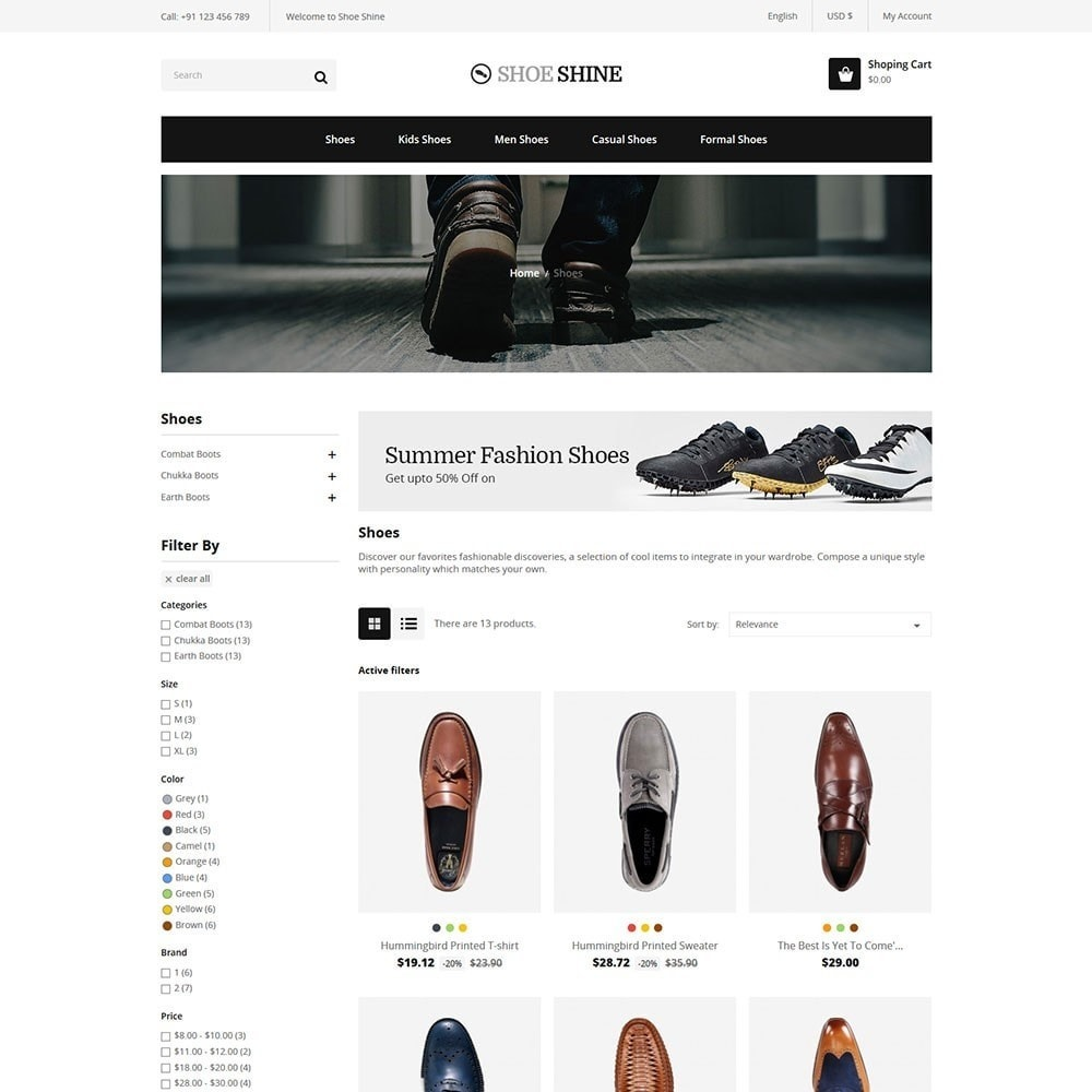 theme - Mode & Schoenen - Shoe Shine Fasion Store - 3