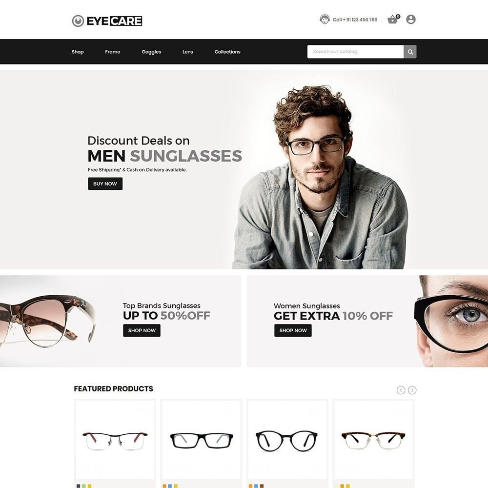 theme - Mode & Chaussures - Eyecare - Fashion Store - 2