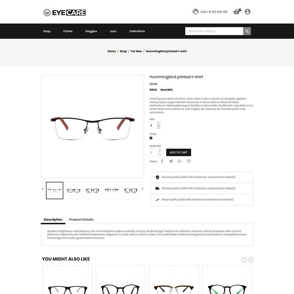 theme - Mode & Chaussures - Eyecare - Fashion Store - 6
