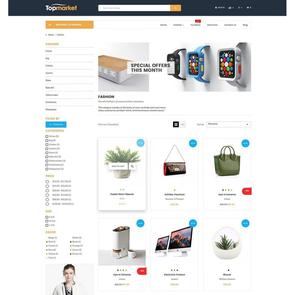 theme - Elettronica & High Tech - Topmarket Electronic Store - 5