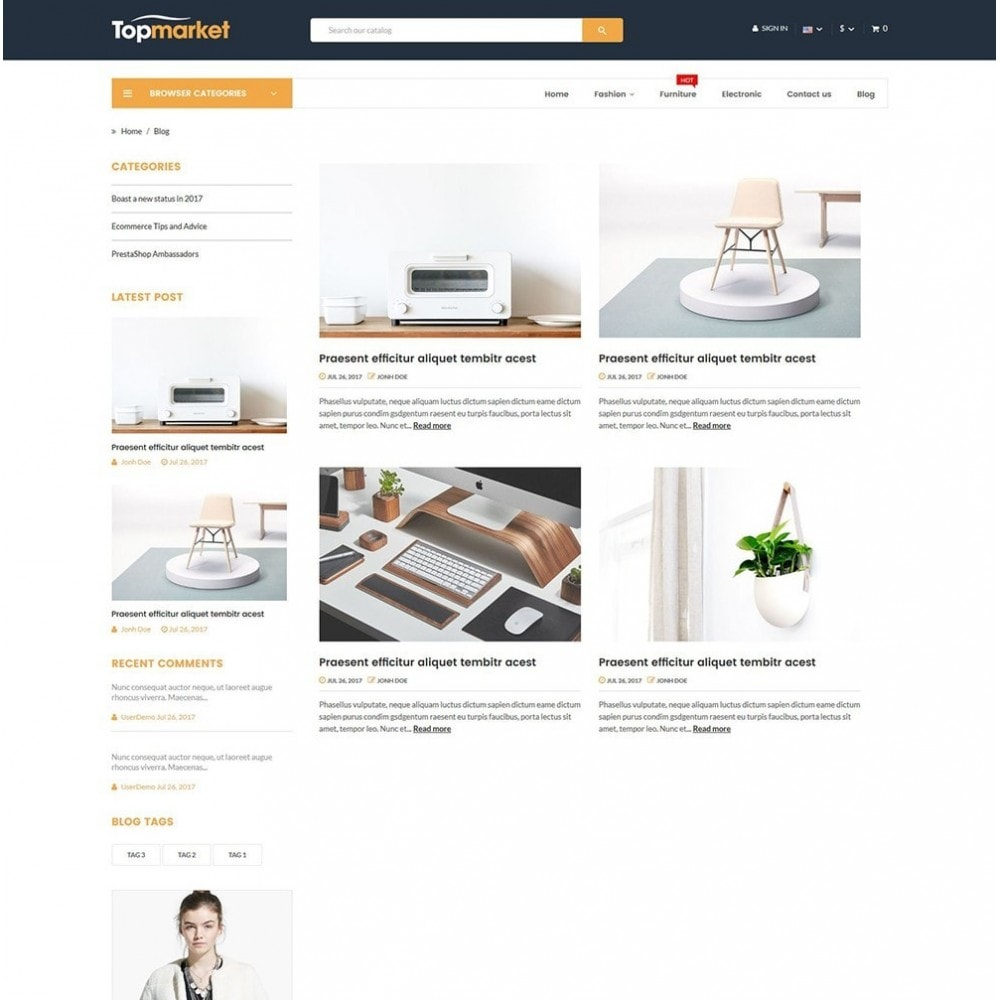 theme - Elettronica & High Tech - Topmarket Electronic Store - 7