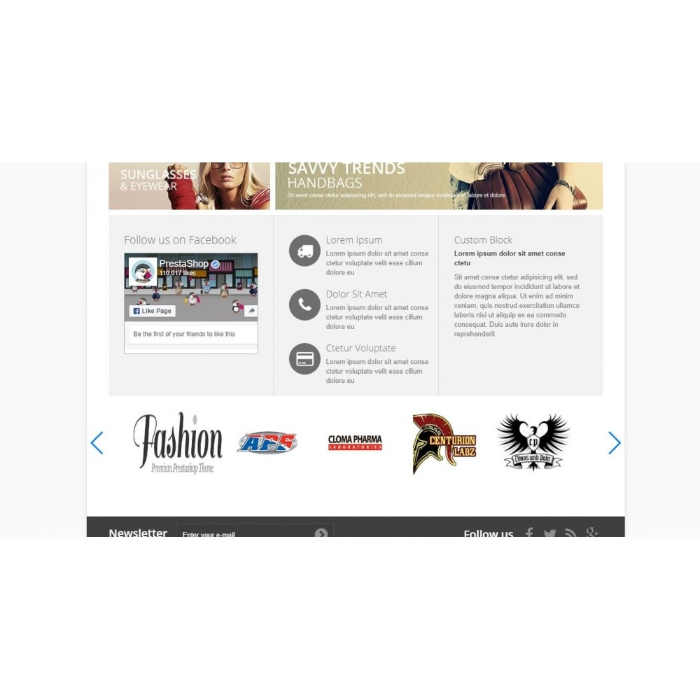 module - Marques & Fabricants - Responsive Manufacturer Slider - 3
