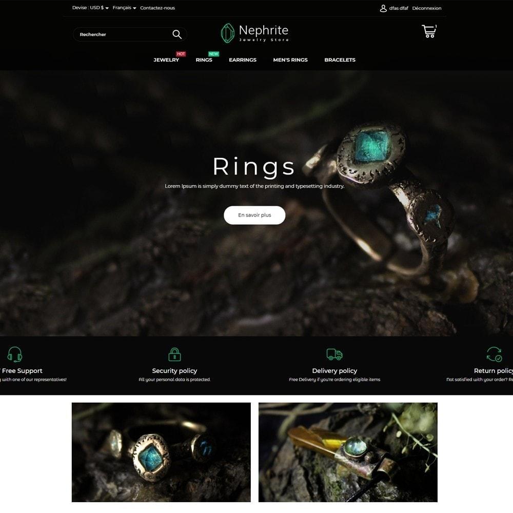 theme - Ювелирные изделия и Аксессуары - Nephrite - Jewelry Store - 2