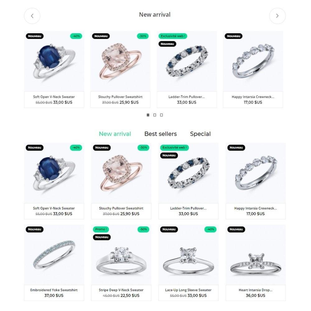 theme - Ювелирные изделия и Аксессуары - Nephrite - Jewelry Store - 3