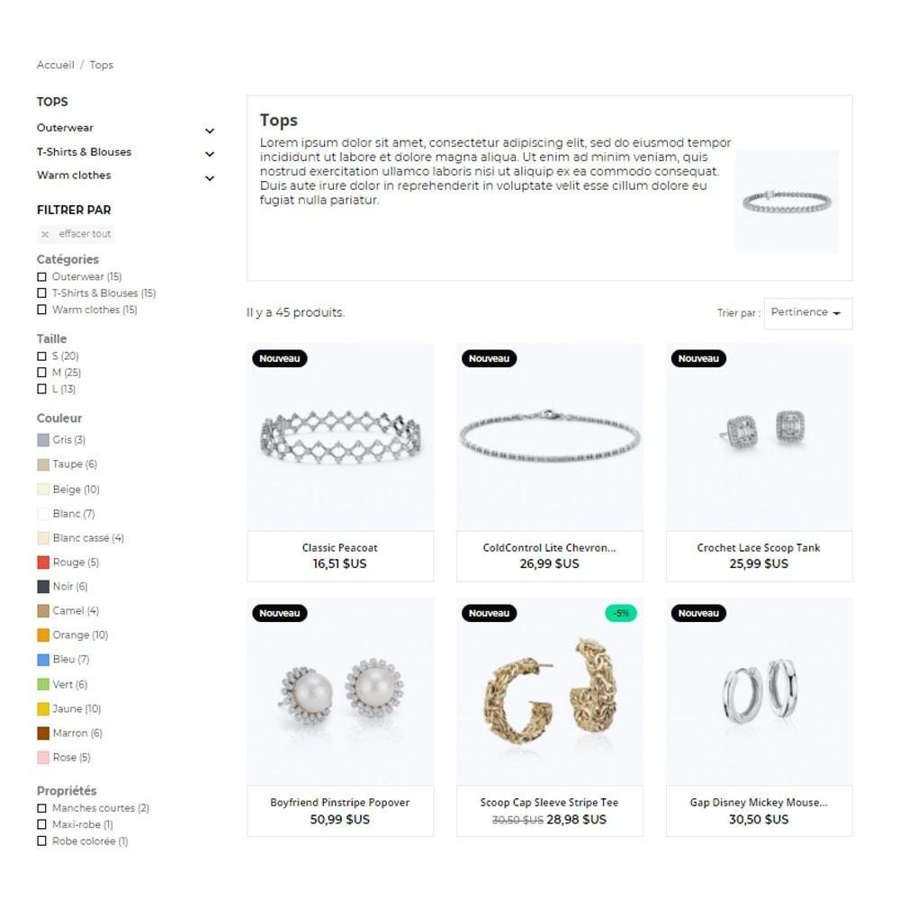 theme - Ювелирные изделия и Аксессуары - Nephrite - Jewelry Store - 4