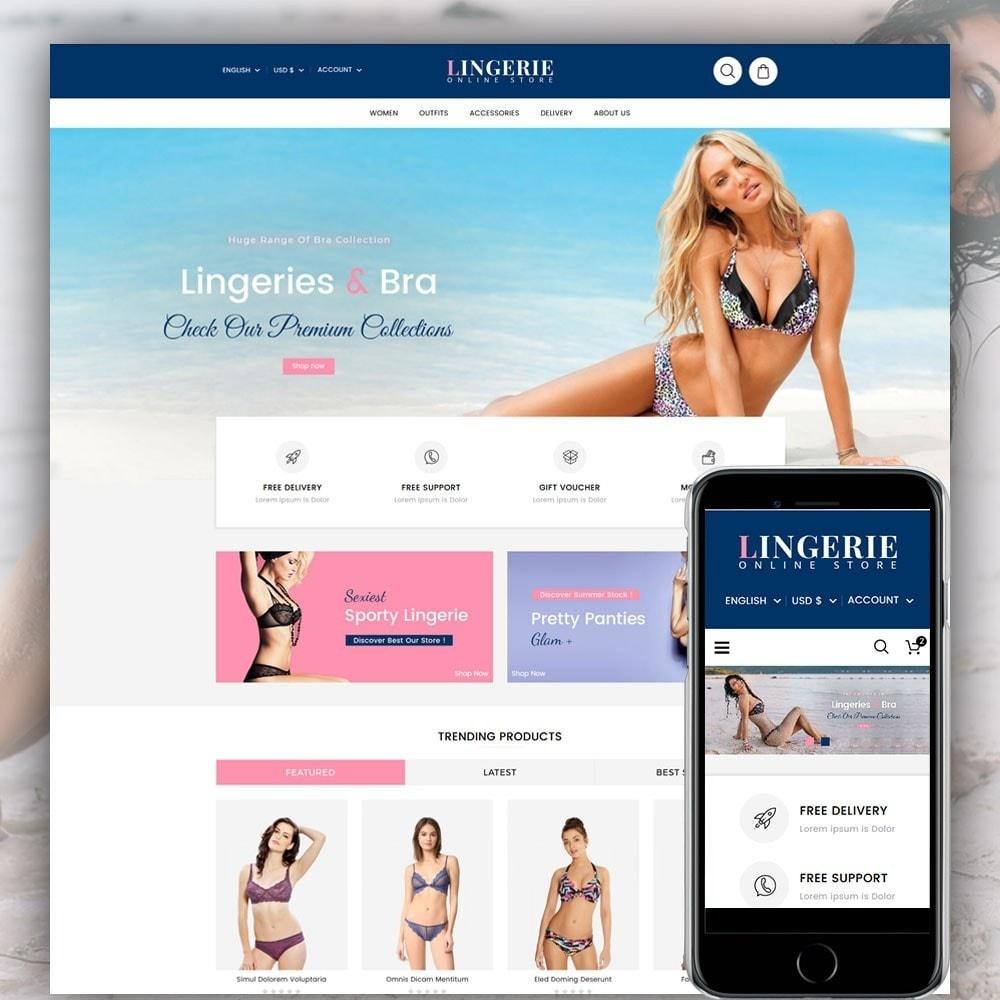 theme - Bielizna & Dorośli - Lingerie Online Shop - 1