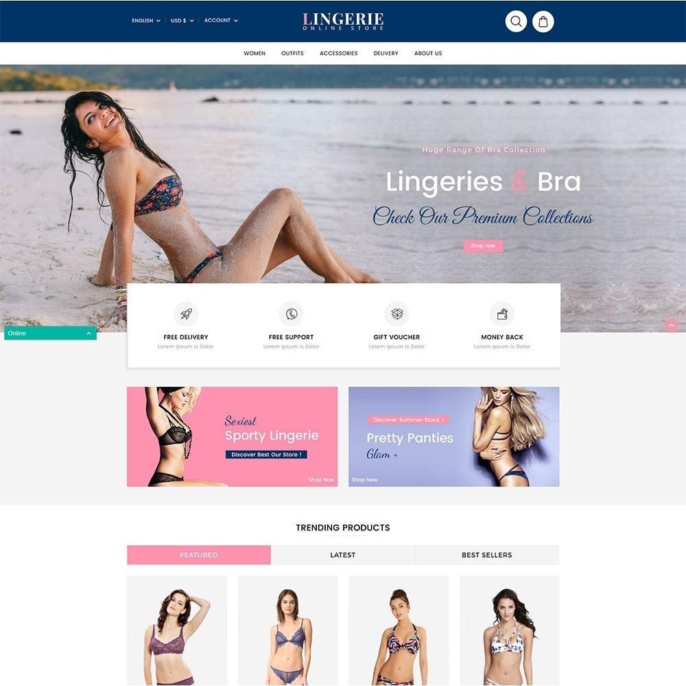 theme - Lingerie & Adulti - Lingerie Online Shop - 2