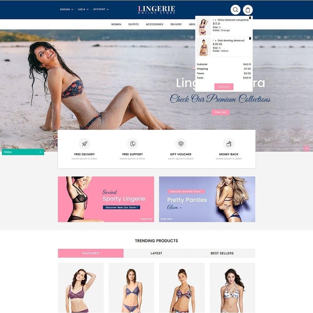 theme - Bielizna & Dorośli - Lingerie Online Shop - 3