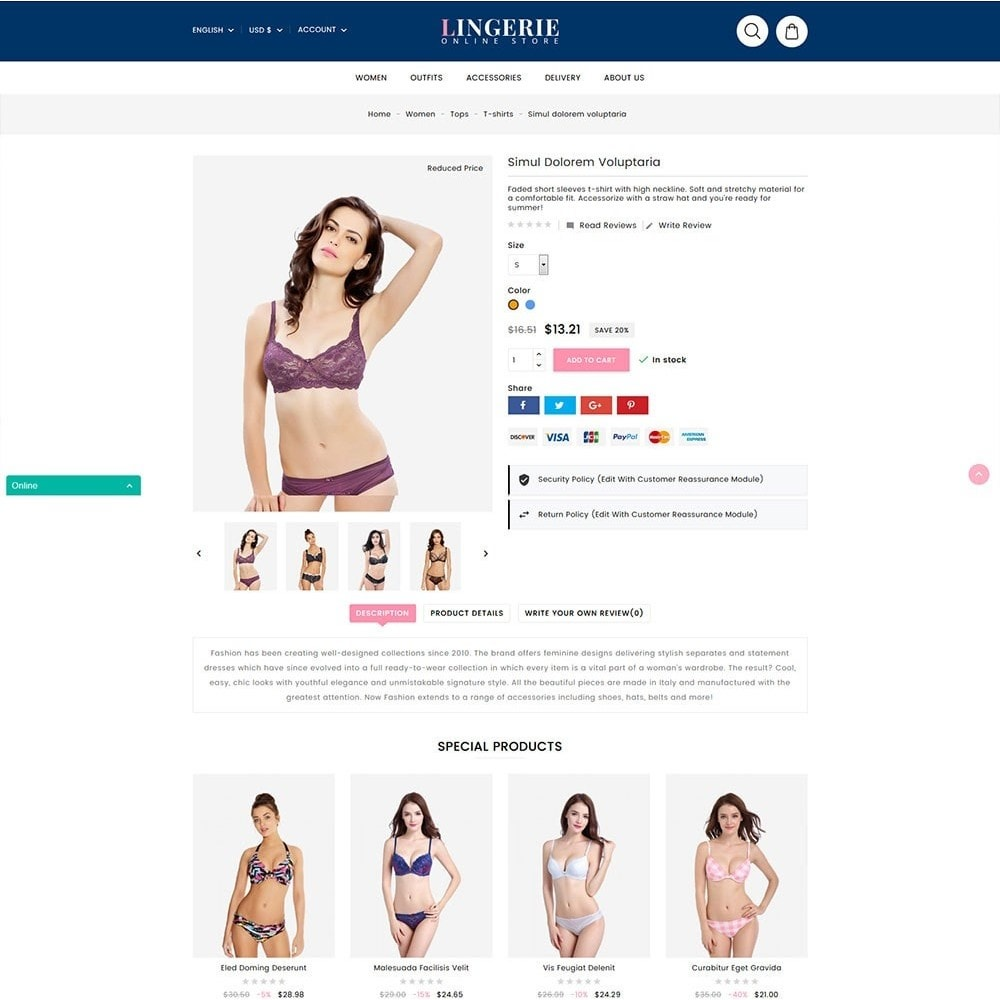 theme - Lenceria y Adultos - Lingerie Online Shop - 4