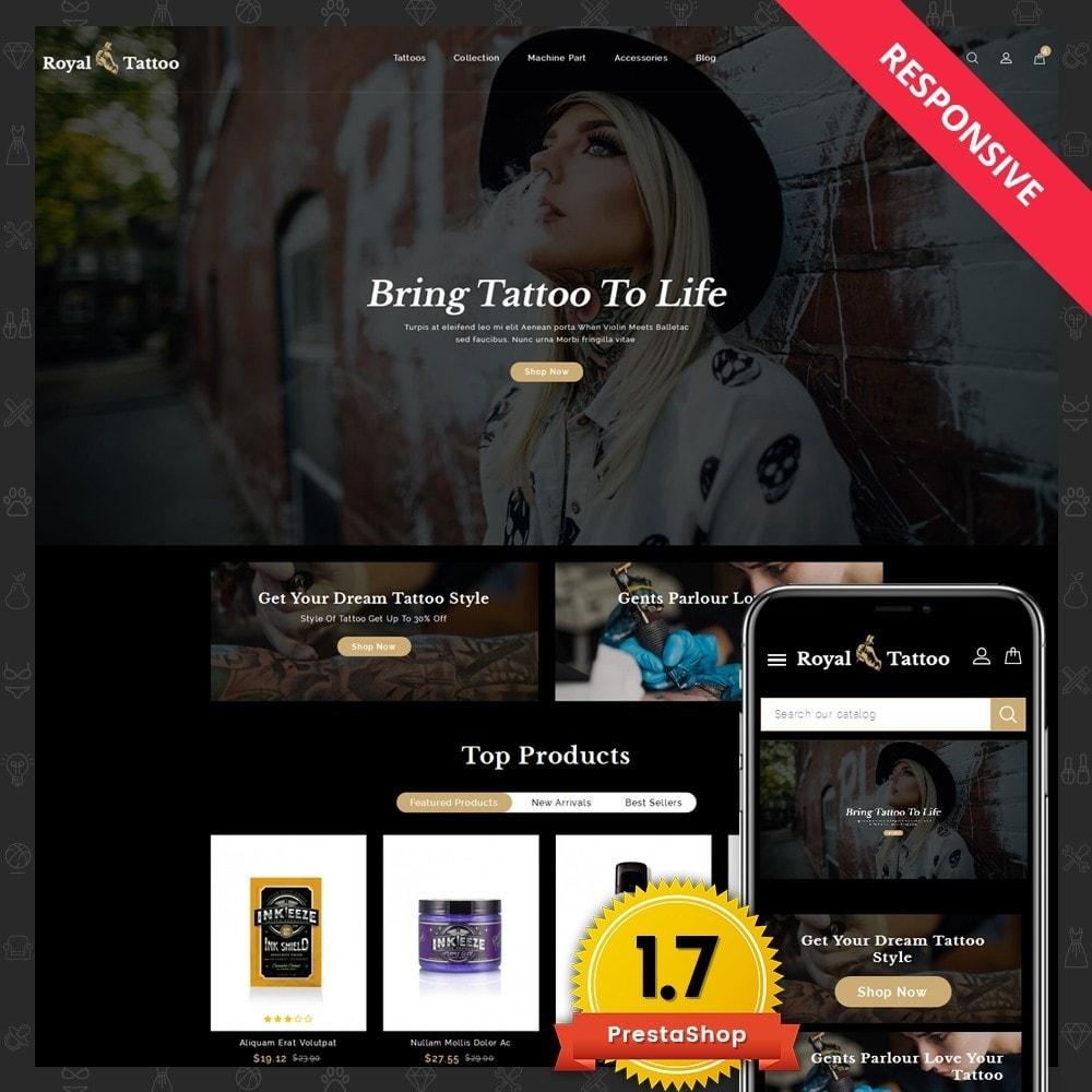 theme - Мода и обувь - Royal Tattoo Tools Store - 1