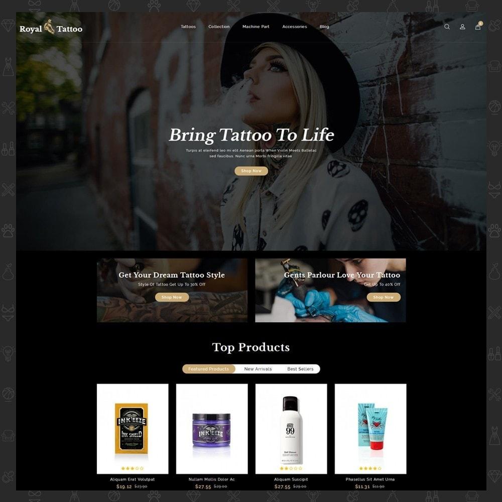 theme - Мода и обувь - Royal Tattoo Tools Store - 2