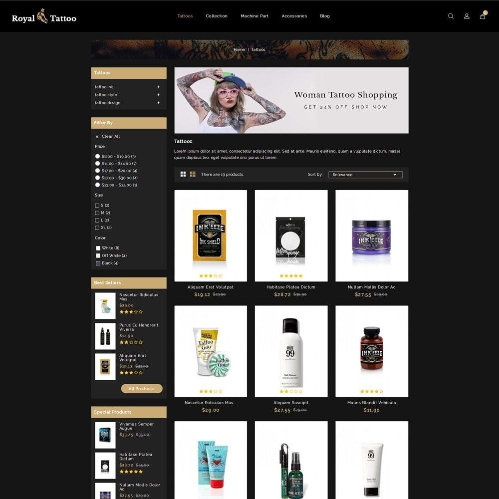 theme - Мода и обувь - Royal Tattoo Tools Store - 3