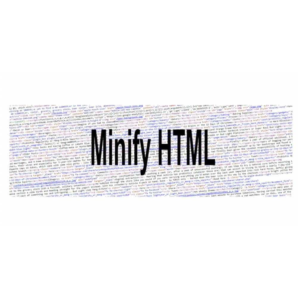 module - Website Performance - Minify HTML - 4